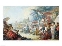 The Chinese Fair, c.1742 Framed Print