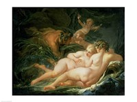 Pan and Syrinx, 1759 Fine Art Print