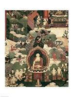 Life of Buddha Sakymuni Fine Art Print