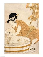 The Bath Fine Art Print