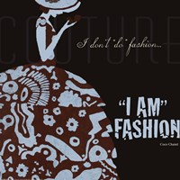 Designers Fashion Fine Art Print