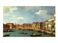 View of the Canal of Santa Chiara, Venice Fine Art Print