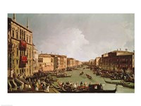 A Regatta on the Grand Canal Fine Art Print