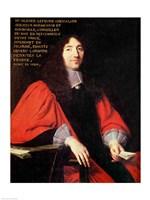 Portrait of Olivier Lefevre Fine Art Print