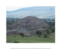 Pyramid of the Moon Teotihuacan Fine Art Print
