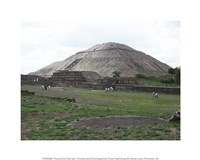 Pyramid of the Sun Fine Art Print