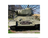 World War Two Tank Fine Art Print