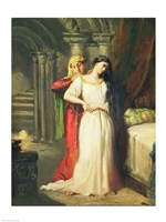 Desdemona Retiring to her Bed, 1849 Fine Art Print