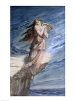 The Death of Sappho Fine Art Print
