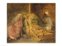 Study for the Interior of a Harem Fine Art Print