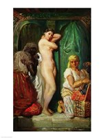 The Bath in the Harem, 1849 Fine Art Print