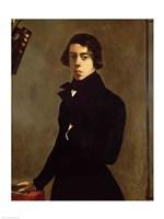 Self Portrait, 1835 Fine Art Print