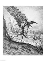 Don Quixote and the Windmills Fine Art Print