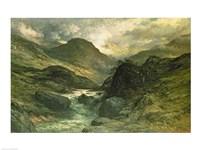 A Canyon, 1878 Fine Art Print