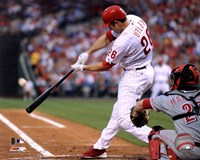 Chase Utley 2011 Action Fine Art Print