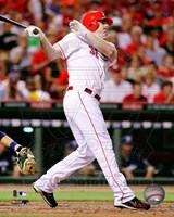 Jay Bruce 2011 Action Fine Art Print
