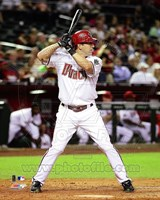 Willie Bloomquist 2011 Action Fine Art Print