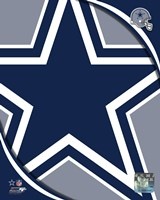 Dallas Cowboys 2011 Logo Framed Print
