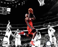 LeBron James Game 3 of the 2011 NBA Finals Spotlight Action(#20) Fine Art Print