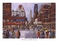 New York Avenue Fine Art Print
