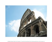 Broken Wall of the Colosseum Fine Art Print