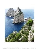 Capri Faraglioni Stacks Framed Print