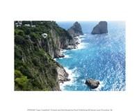 Capri Coastline Fine Art Print