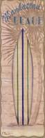 Surf Panel II -mini Framed Print