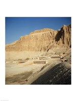 Temple of Hatshepsut Deir El Bahri Thebes Egypt Fine Art Print