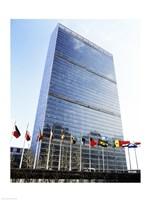 United Nations, New York City, New York, USA Fine Art Print