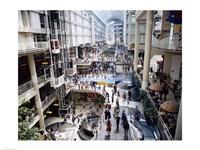Shopping mall, Eaton Centre, Toronto, Ontario, Canada Fine Art Print