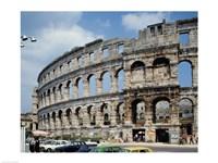 Roman Amphitheater, Pula, Croatia Fine Art Print