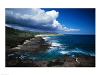 Oahu Hawaii USA Framed Print