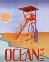 Beach Watch II Fine Art Print