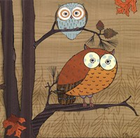 Awesome Owls I Fine Art Print