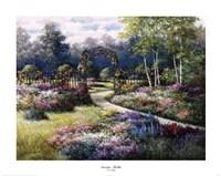 Garden Trellis Fine Art Print
