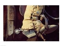 Cowboy boot Fine Art Print