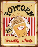 Popcorn Freshly Made Framed Print