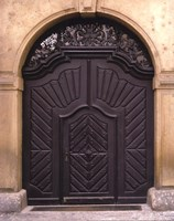 Prague Door III Fine Art Print