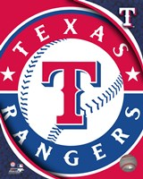 2011 Texas Rangers Team Logo Framed Print