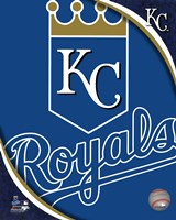 2011 Kansas City Royals Team Logo Fine Art Print