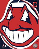 2011 Cleveland Indians Team Logo Fine Art Print