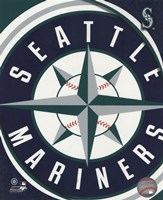 2011 Seattle Mariners Team Logo Fine Art Print