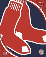 2011 Boston Red Sox Team Logo Fine Art Print