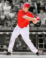Jay Bruce 2011 Spotlight Action Fine Art Print