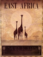 East Africa Framed Print