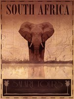 South Africa Framed Print