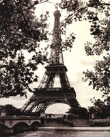 Eiffel Tower II Fine Art Print