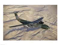 Lockheed C-141B Starlifter Cargo Plane Fine Art Print