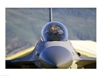 F-16 Fighter Jet US Air Force Fine Art Print